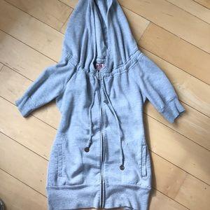 Juicy Couture zip up short sleeve